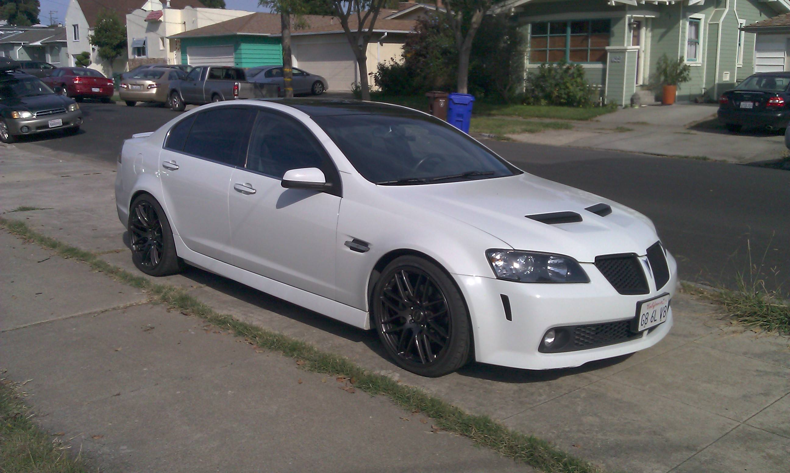 lowering springs h r vs eibach vs tein pontiac g8 forum. Black Bedroom Furniture Sets. Home Design Ideas